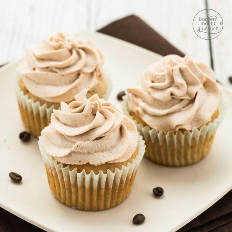 Tiramisu Cupcakes mit Mascarpone