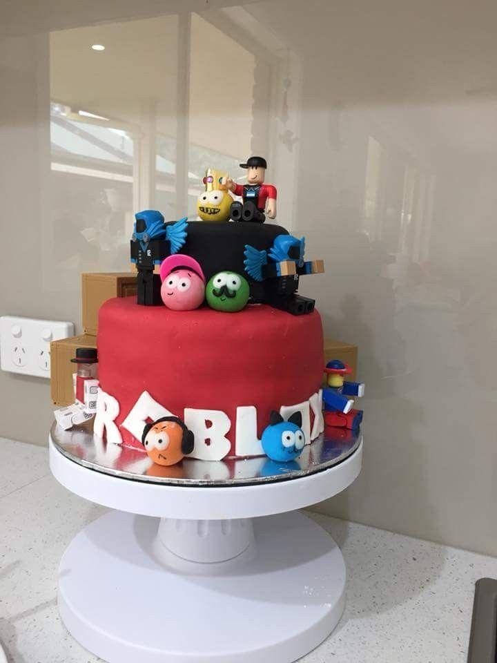 Pin By Andrea Da Silva On Boys Cakes Roblox Birthday Cake 9th