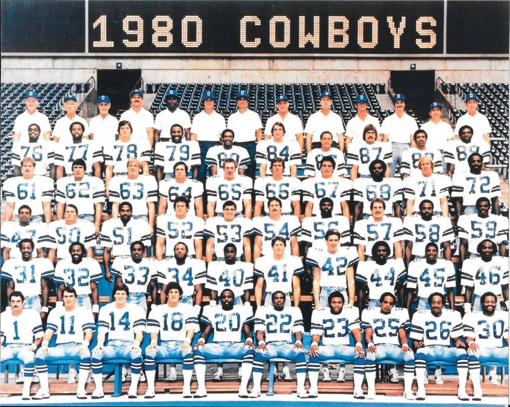 1980 cowboys dallas cowboys players dallas cowboys