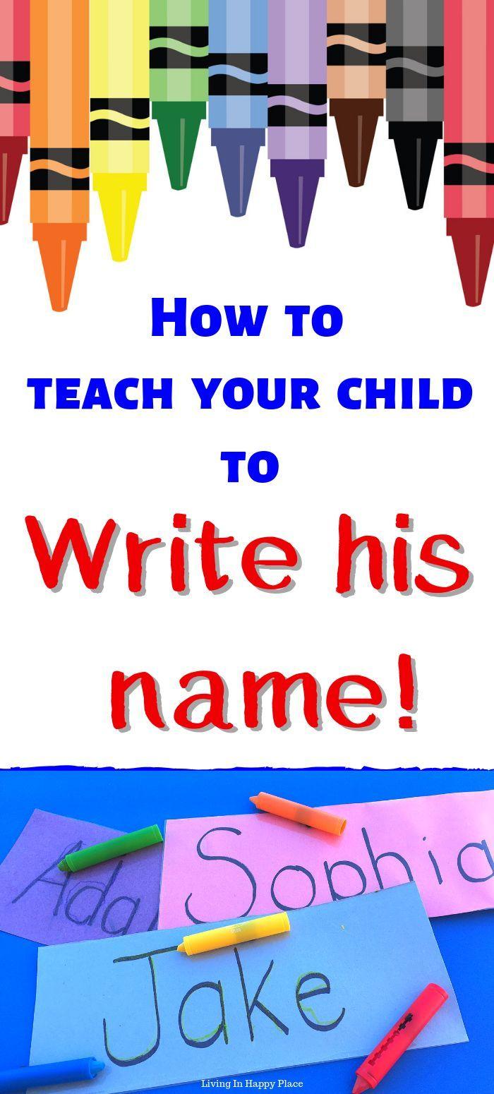 Practice Name Writing with this DIY Reusable Name Mat