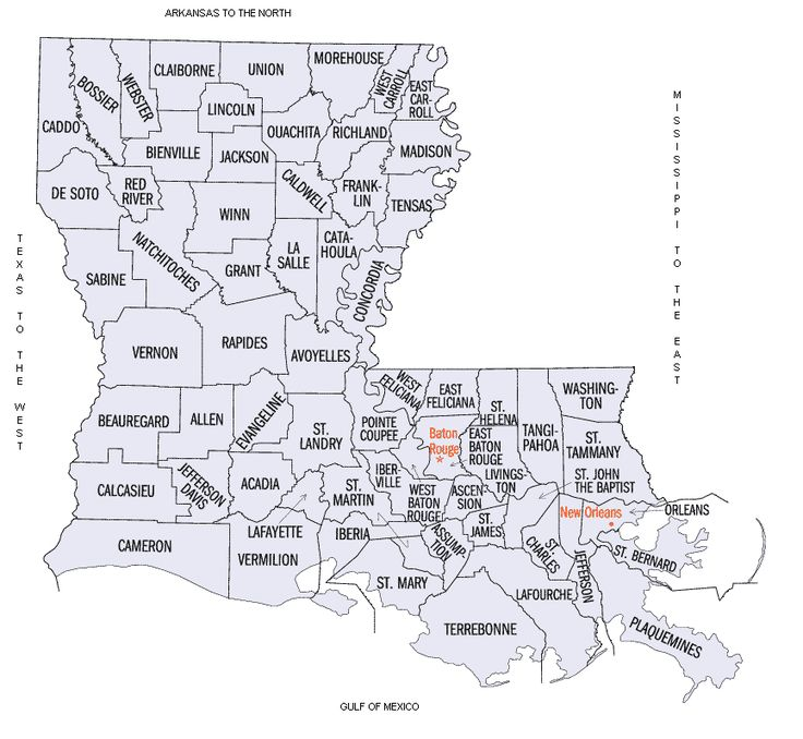 Best Louisiana Parishes Ideas On Pinterest Map Of Louisiana - Louisiana us representative map