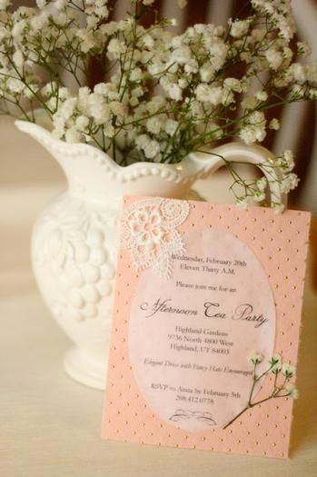 Hostess with the Mostess® - Adult Tea Party Ideas