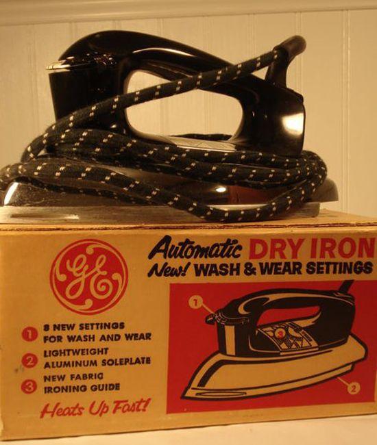 1960s G.E Dry Iron