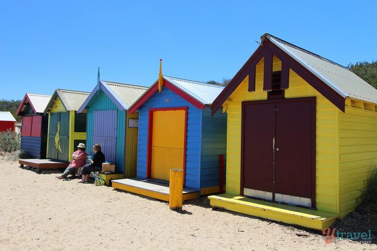 Beach huts, Brighton Beach, Melbourne, Australia #BeachThursday