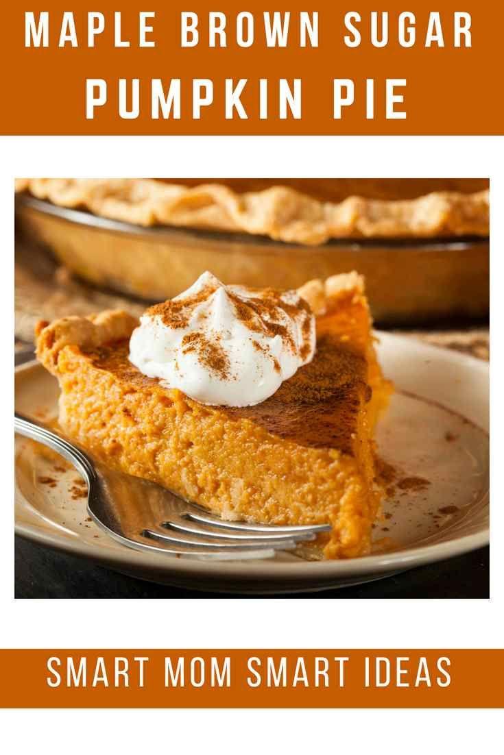 Maple Brown Sugar Pumpkin Pie Recipe Recipe Pumpkin Pie Recipes Sugar Pumpkin Pie Recipe Unique Pumpkin Pie