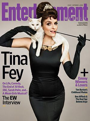 Audrey Tina on the cover of EW