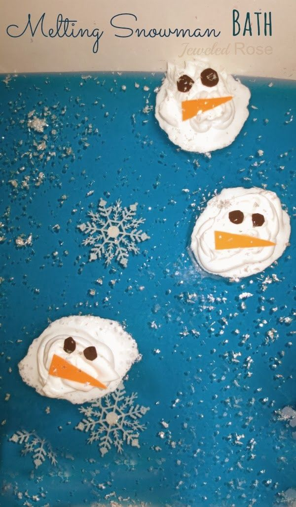Melting Snowman Play