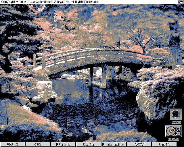 Na stronie Amiga Fans znajdziecie kolekcję 8 kolorowych tapet Leona w palecie MagicWB, łącznie 62 obrazki. Kilka z nich można zobaczyć w naszej galerii: