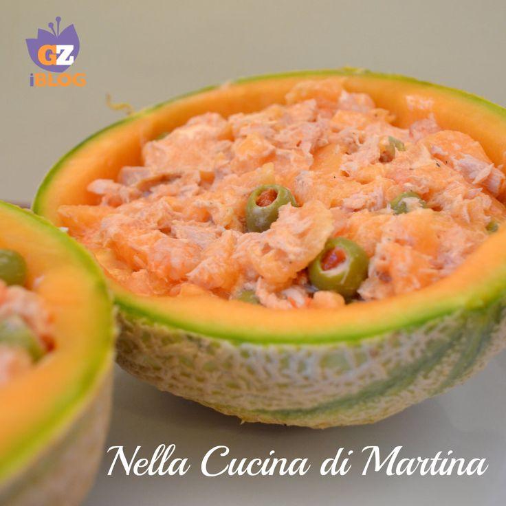 coppe di melone al sapore di mare ricetta