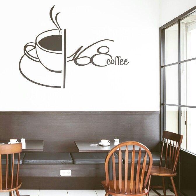 Coffee cafe design.