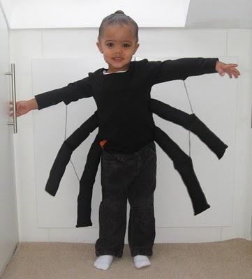 itsy bitsy spider costume ideas