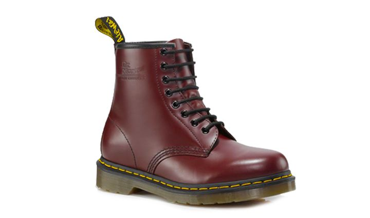 Dr Martens 1460 CHERRY RED SMOOTH - Doc Martens Boots and Shoes...Once upon a time I had this pair in this color...until I wore them to work at the restaurant and got grease on them.  Saddest day of my life.