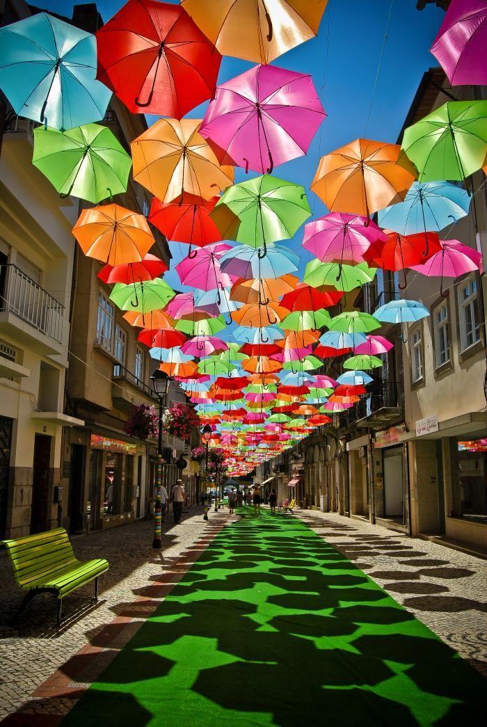 Diana Tavares Umbrella Art in Águeda/Portugal   #umbrellas #art #streetart #urbanart #arteurbana #arte #agitagueda #agueda   #photo #contest #urban #photography #concurso #fotografia #arte #umbrellas #agitagueda #umbrellaskyproject #portugal #sextafeiraproduções #águeda #aveiro #dotart