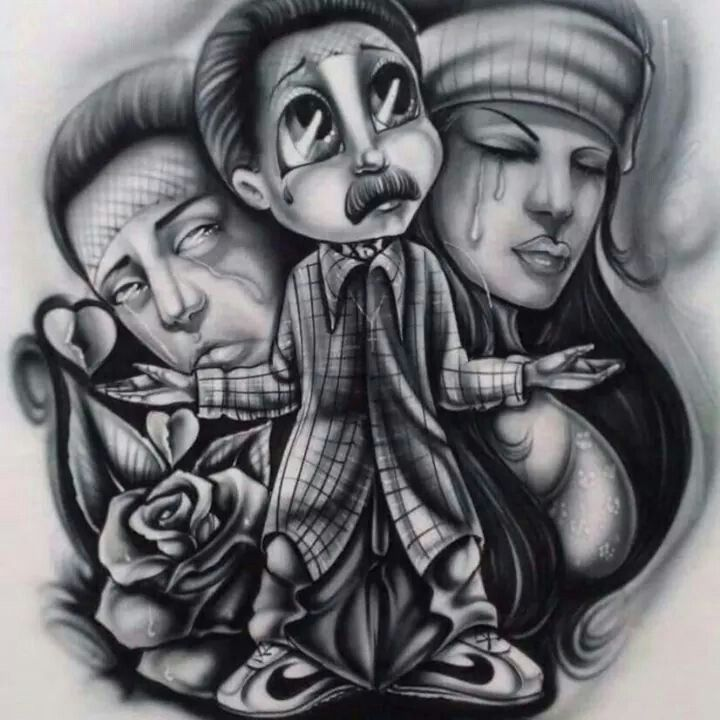 1049 best chicano art images on pinterest chicano art - Chicano pride images ...