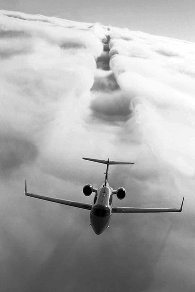 Jet. Clouds. Cause. Effect.