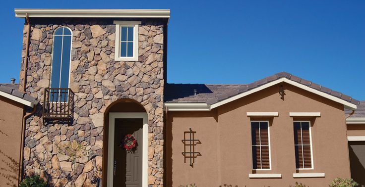 Exterior color sw 2804 renwich rose beige arizona home for Arizona exterior house colors