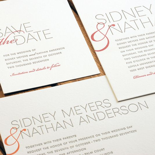 17 best a very letterpress wedding images on pinterest were feeling these splashes of warm hues on custom letterpress wedding invitations from luscious filmwisefo Gallery