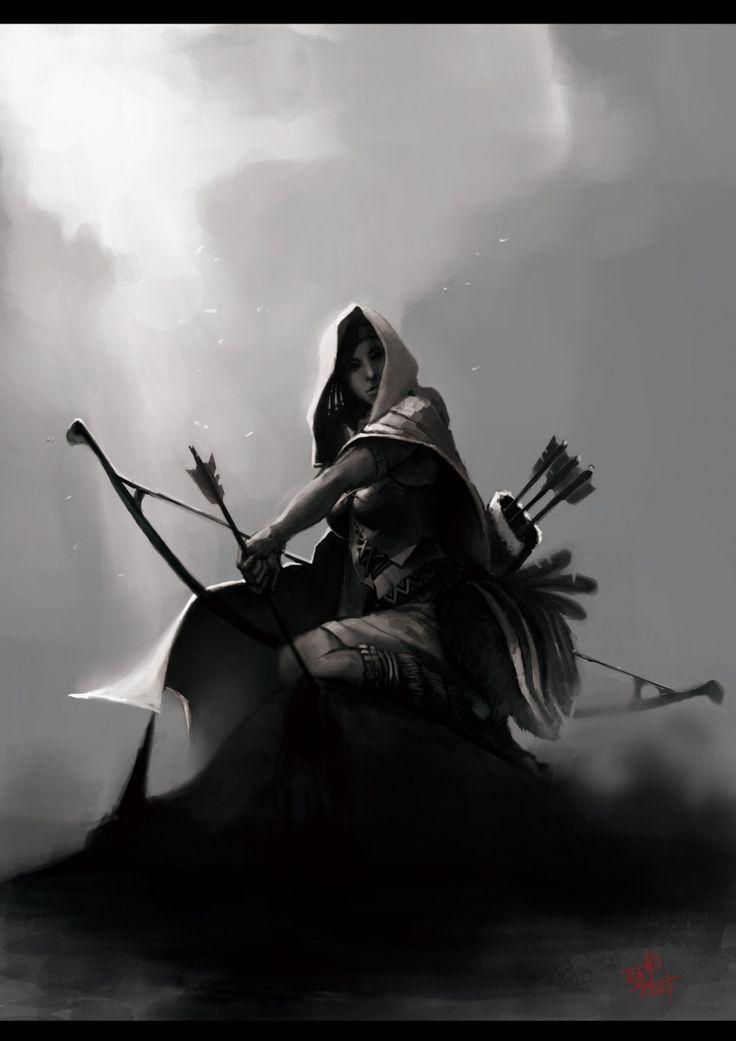 271 best art fantasy archer ranger images on