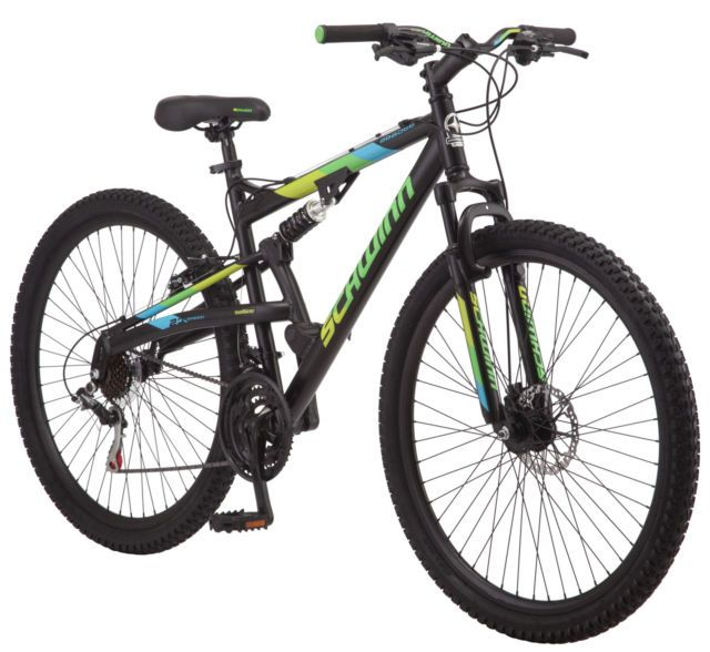 "Schwinn Knowles Men's Mountain Bike Bicycle 29"" Wheel 21 Speeds Black Outdoor"