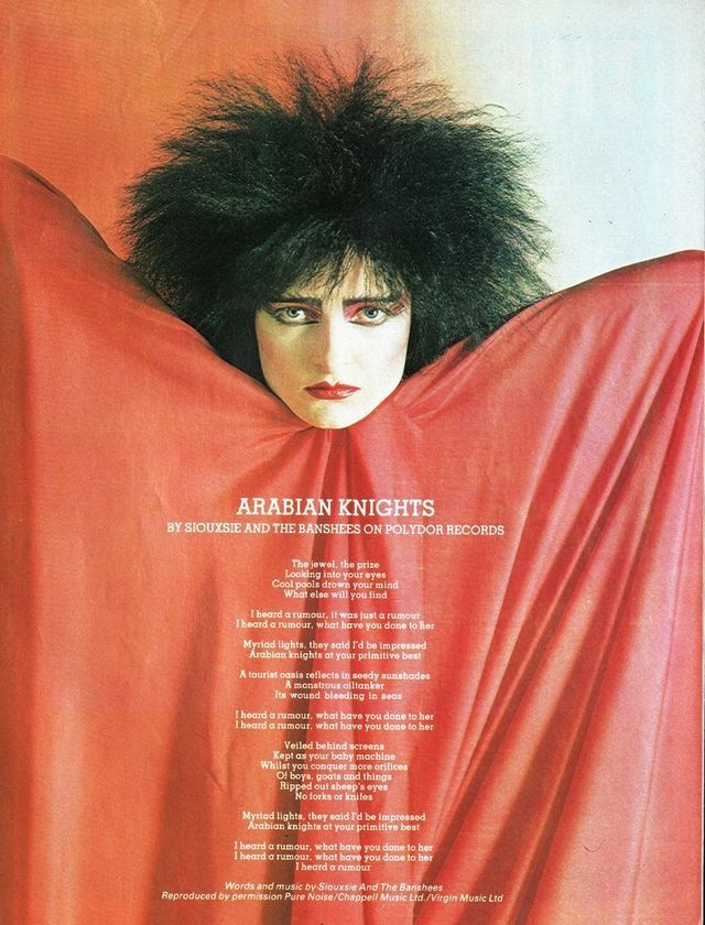 Arabian Knights, Siouxsie and the Banshees