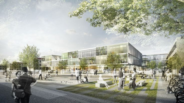 Research and Educational Building for Technical University Denmark / Christensen & Co. Architects + Rørbæk & Møller architects