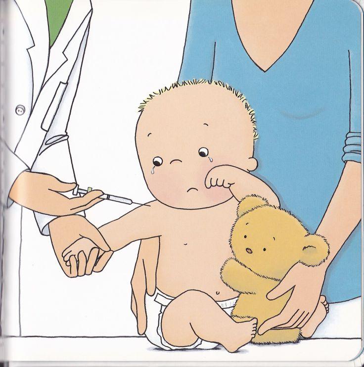 Kleine Leon bij de dokter