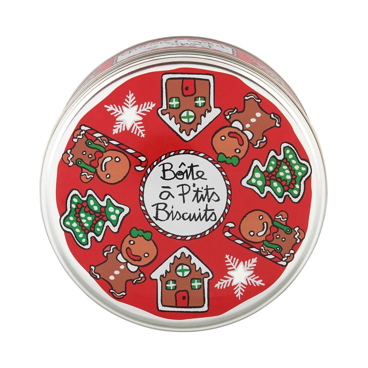 Boîte de conservation Boîte à Biscuits Noël Boîte à Biscuits Noël