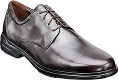 Rockport+Mornos+-+Dark+Brown+Full+Grain+Leather+with+FREE+Shipping+&+Returns.+The+Mornos+is+an+Oxford+style+shoe+featuring+a+padded+collar+and+tongue,+
