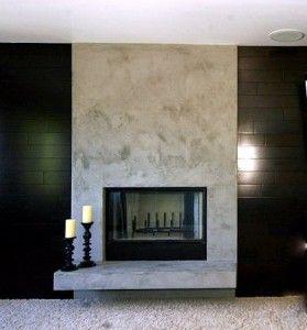 Venetian Plaster Fireplace Google Search