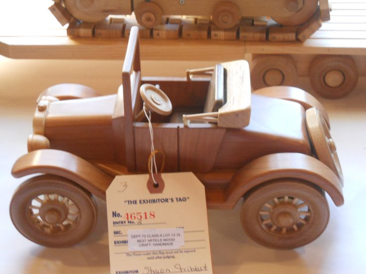 Wooden Trucks Toys And Joys : Wooden toy car and truck plans woodworking projects