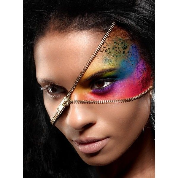 Creative Makeup Ideas ❤ liked on Polyvore