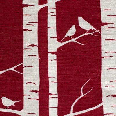 Birds in birch - Birch Forest by Lara Cameron from Kelani Fabric Obsession