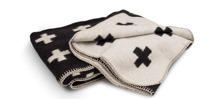 Cross blanket Pia Wallén