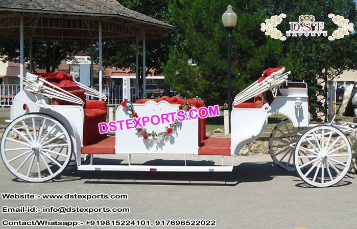 New #Vis #a #Vis #Limo #Horse #Drawn #Carriage #DSTEXPORTS