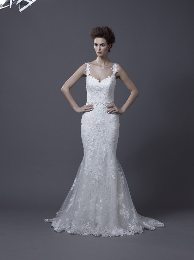 Igen Szalon Enzoani wedding dress - Hanako #igenszalon #weddingdress #enzoani