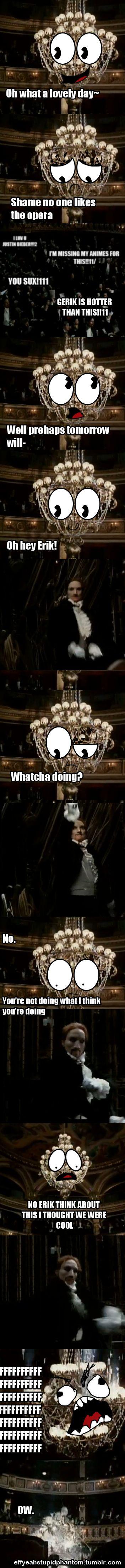 Erik / The Phantom | The Phantom of the Opera | Humor | Adaption from Arthur Kopit's Stage Production | Charles Dance