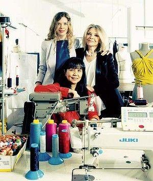 Passion: Zampatti, Bianca Spender and Shirley Bachtir. Photo: Jennifer Soo Read more: http://www.theage.com.au/lifestyle/fashion/seam-of-talent-may-be-lost-designer-fears-20130320-2gfr0.html#ixzz2OXlDzPiB