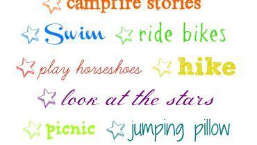 camping-fun-bucket-list