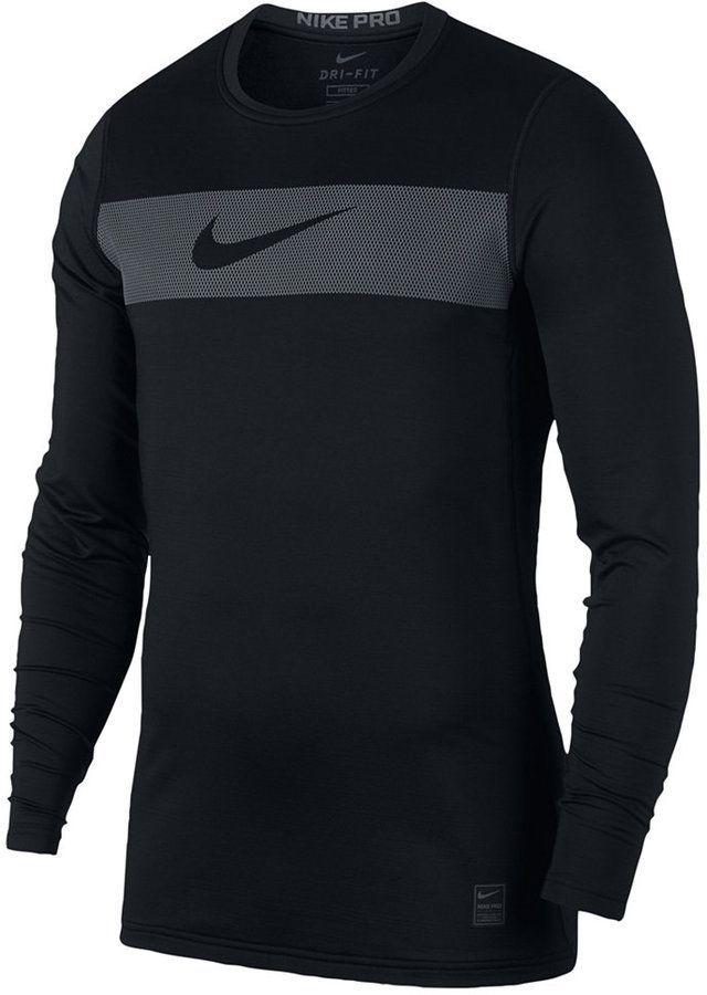 Nike Men's Pro Warm Dri fit Compression T Shirt in 2019