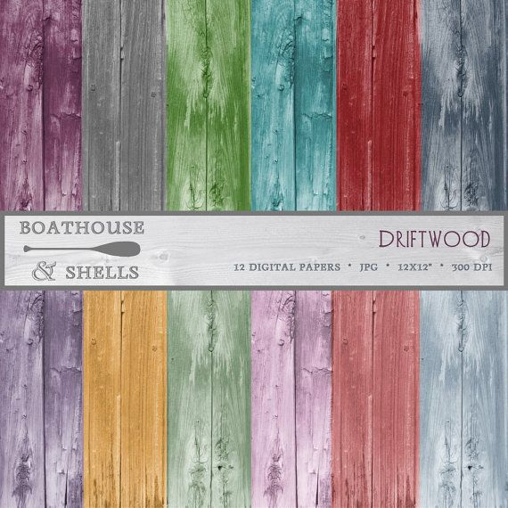 "digital scrapbooking paper ""driftwood"" - 12 pages, printable, instant download from BoathouseandShells on Etsy  https://www.etsy.com/de/listing/184168591/digitales-scrapbookingpapier-driftwood?ref=shop_home_active_12"