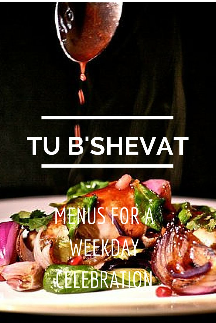 3 Menus for Tu B'Shevat   Joy of Kosher with Jamie Geller