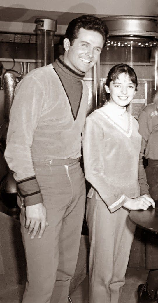 Mark Goddard and Angela Cartwright (Lost in Space)