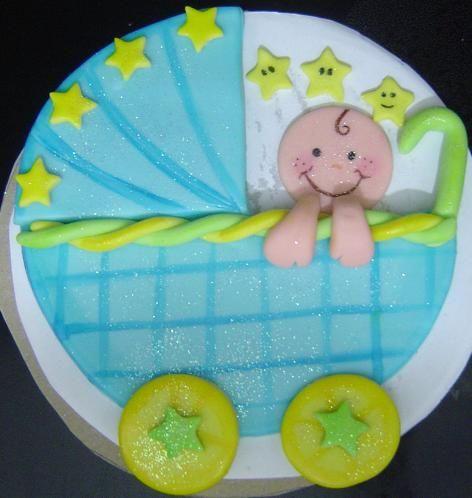 Disco De Azucar Para Torta Baby Shower // Baby Shower Cake // Pastel De