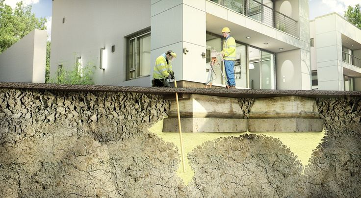 Our team has the right expertise and tools to manage and uplift all types of foundations and structures by performing underpinning process.