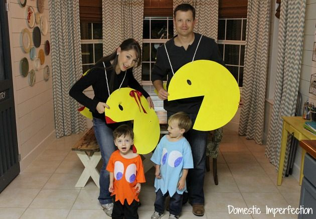 easy Pac-Man family costume