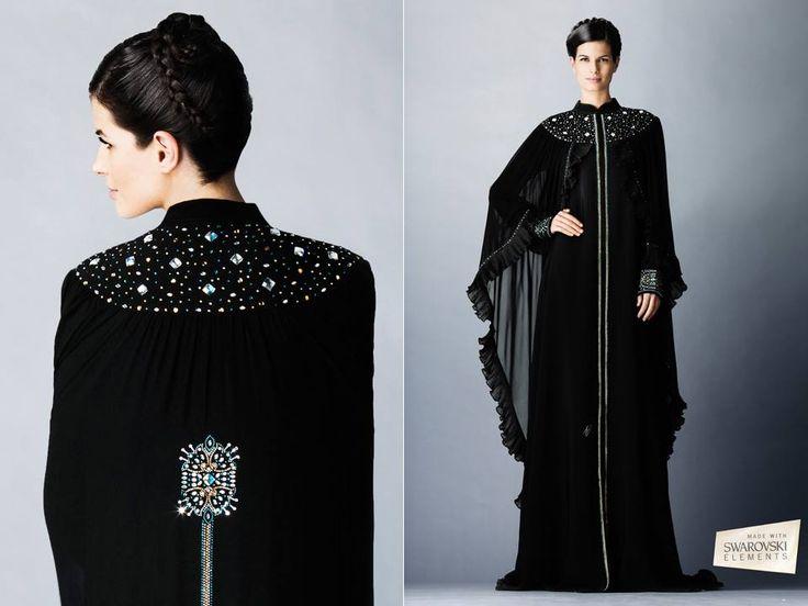 #swarovski abaya