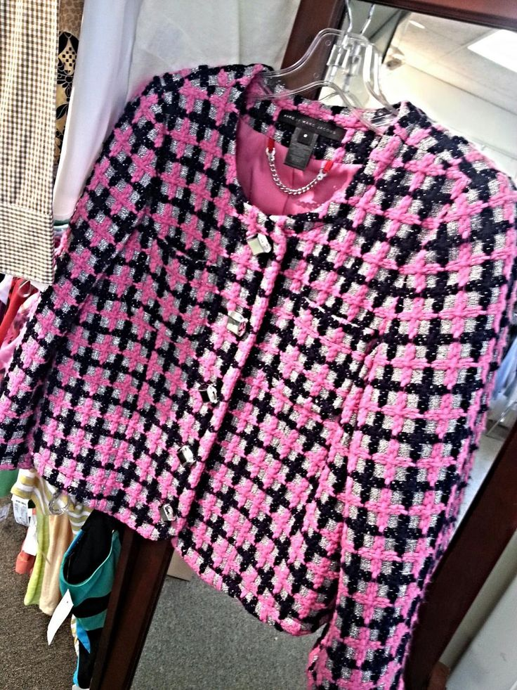 We think this jacket from Marc by Marc Jacobs is very Chanel inspired!! You know what's even more amazing? You can find this beauty in our Last Chance store for only $35!!! Original Retail? $300+!!!