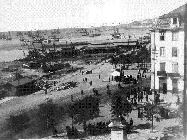 Cais do Sodré - 1877