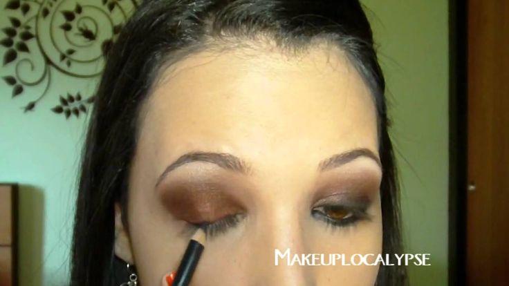 Sexy maquillaje ojo ahumado inspirado en Kim Kardashian