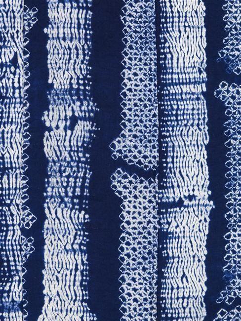 'Yukata' Summer kimono (detail). Japan, 20th century | Paris, Musée Guimet – Musée National des Arts Asiatiques